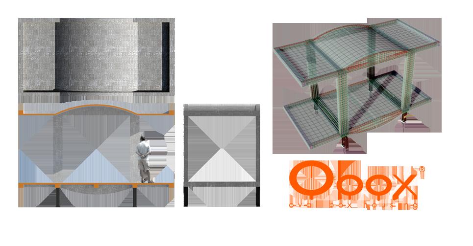 Módulo Obox para construcción de viviendas prefabricadas