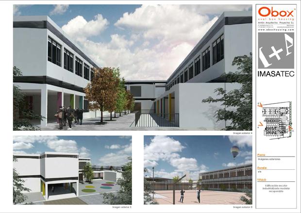 Arquitectura modular en colegios obox housing casas for Arquitectura modular