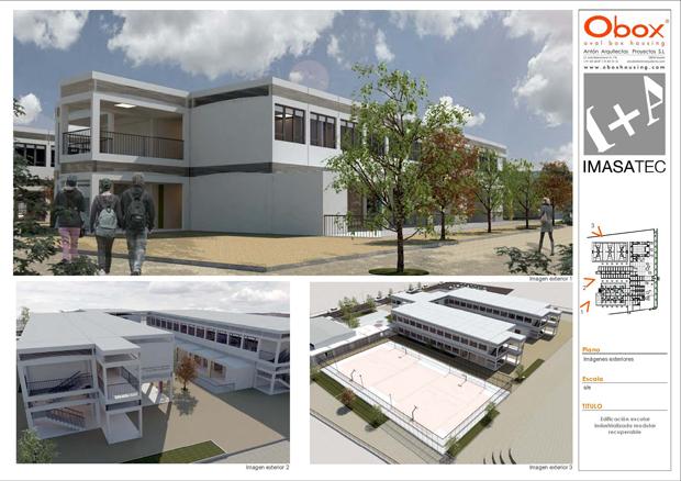 Arquitectura Modular En Colegios Obox Housing Casas