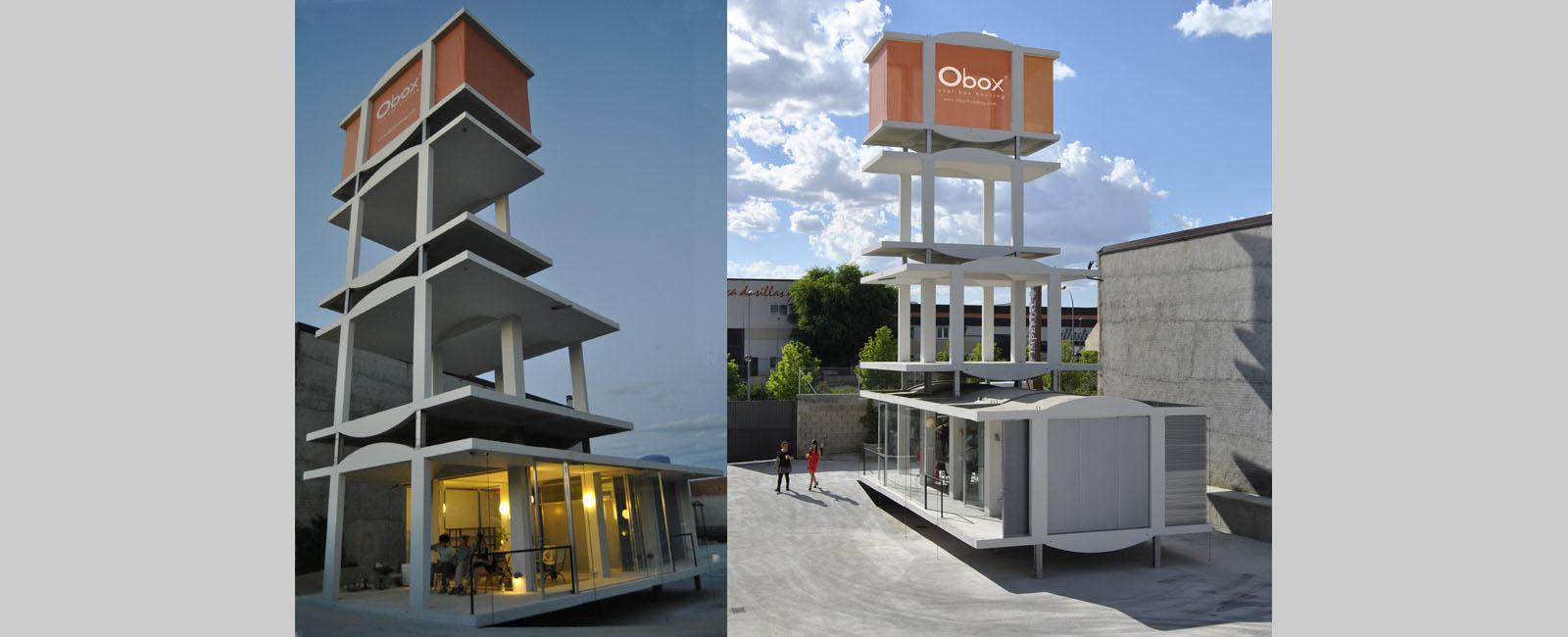 Casas prefabricadas de hormigon originales obox housing - Precio casa prefabricada hormigon ...