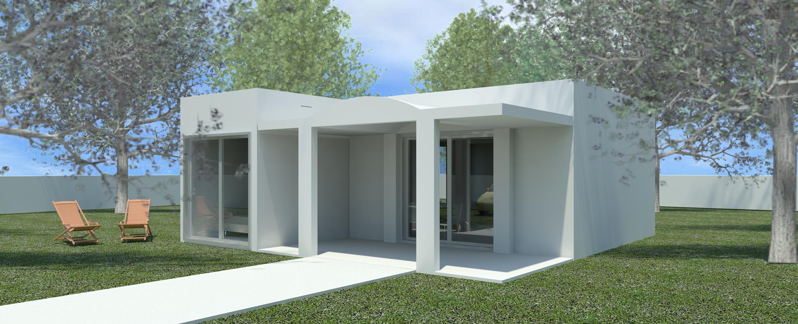 Casas prefabricadas de hormigon originales obox housing for Construccion de casas precios