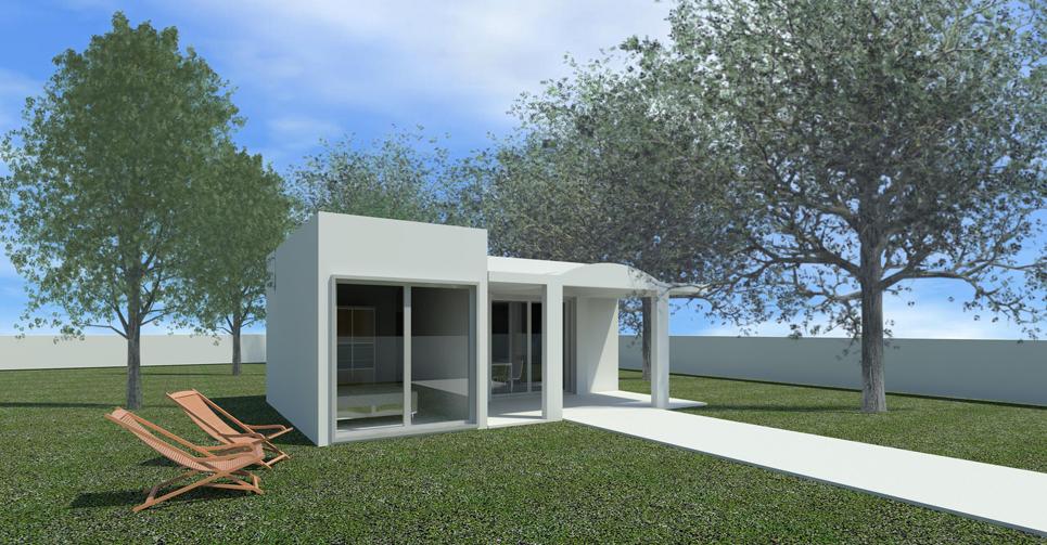 Casas prefabricadas de hormig n obox de menos de 50 m2 - Casas prefabricadas de diseno ...