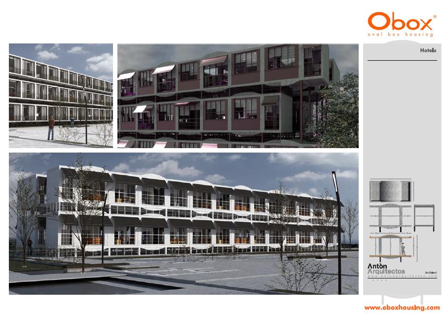 Construccion industrializada - Hoteles 21