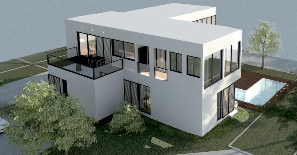 Tu casa prefabricada de hormig n obox original y flexible - Casas de hormigon prefabricadas de diseno ...