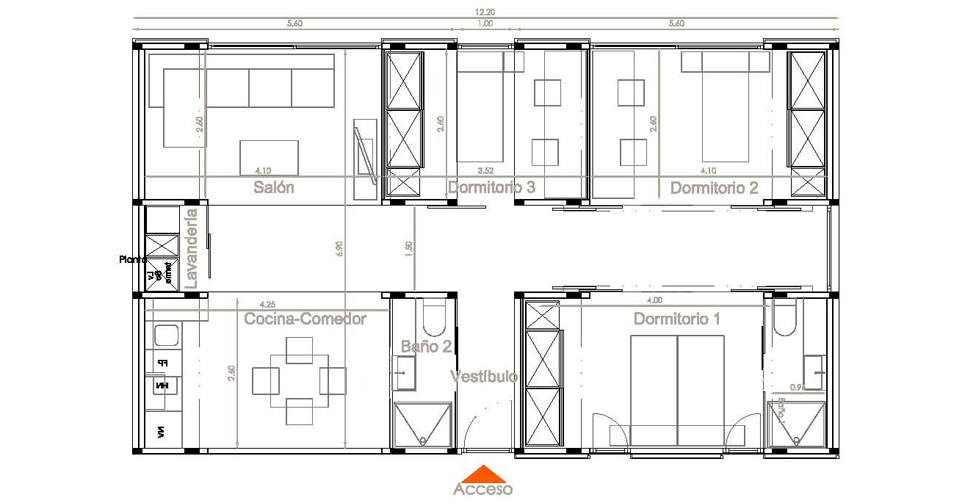 Proceso de construccion de vivienda unifamiliar 1