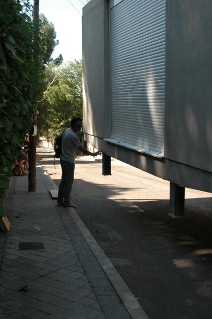 Montaje módulos Obox Madrid 12